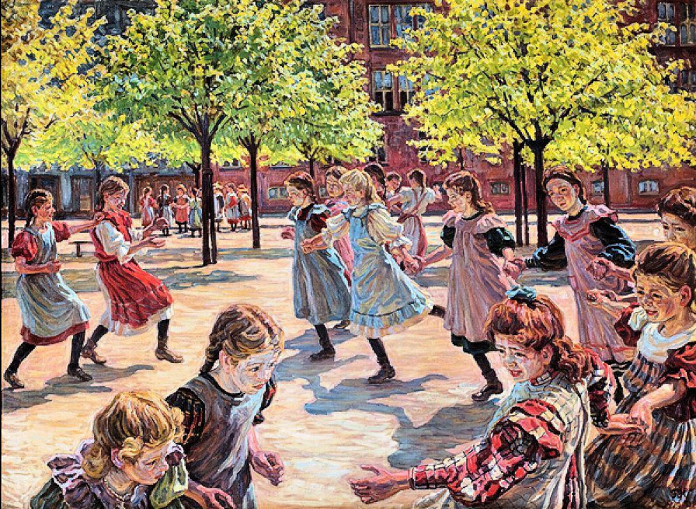 d40a7865a29f Ovenstående billede af min barndoms skole - Enghave Plads Skole (oprindelig  Istedgade Skole)
