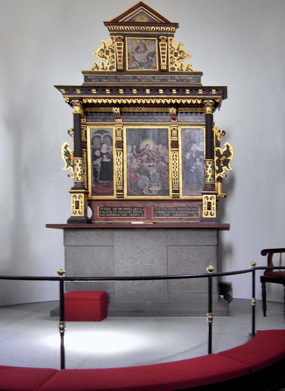 danmarks middelalderlige altertavler